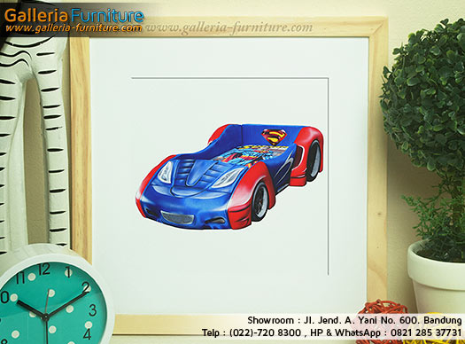Toko kasur Anak Murah - bigland bed car superman