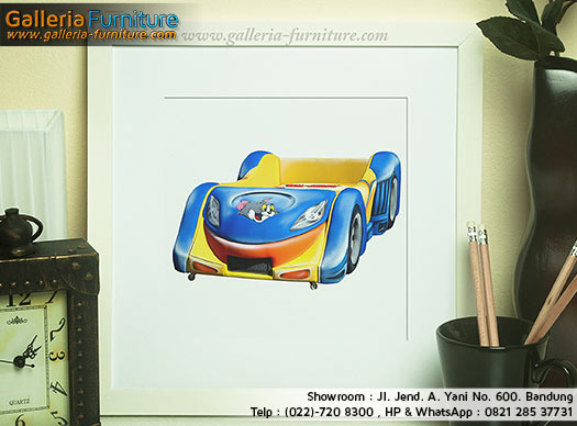 Toko Pusat Spring Bed Anak Murah-Bed Car Tom & Jerry