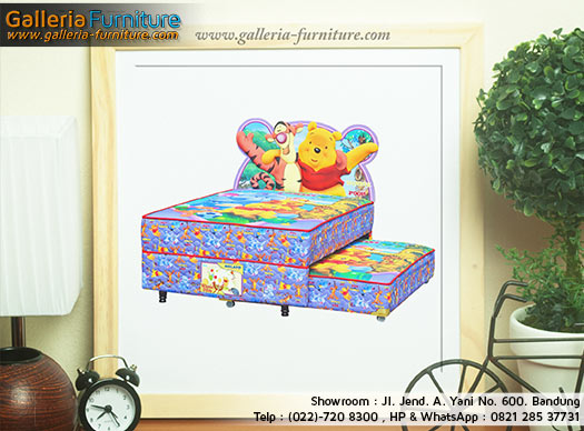 Spring Bed Anak Winnie The Pooh 2in1 by Bigland