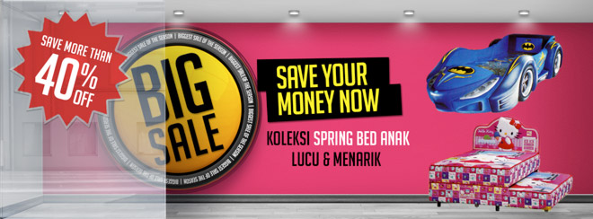 BIG Promo Spring Bed Anak Bigland