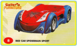 Bed Car Spiderman Sport