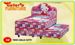Spring Bed Anak Hello Kitty
