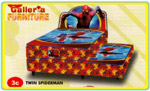 BIGLAND Spring Bed Anak Spiderman