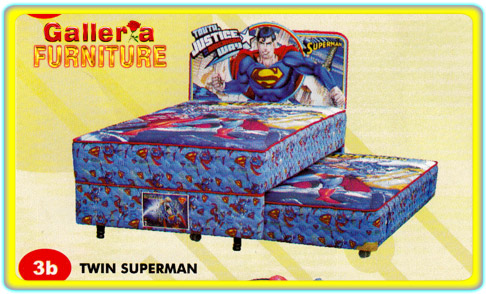 Spring Bed Anak Sorong Superman