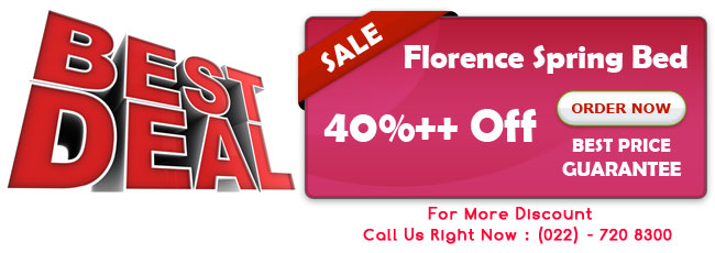 Promo Florence Spring Bed