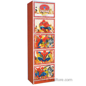 Lemari Locker Box Spiderman