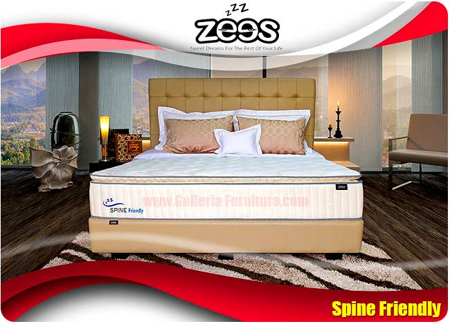 Harga Spring Bed Zees Spine Friendly