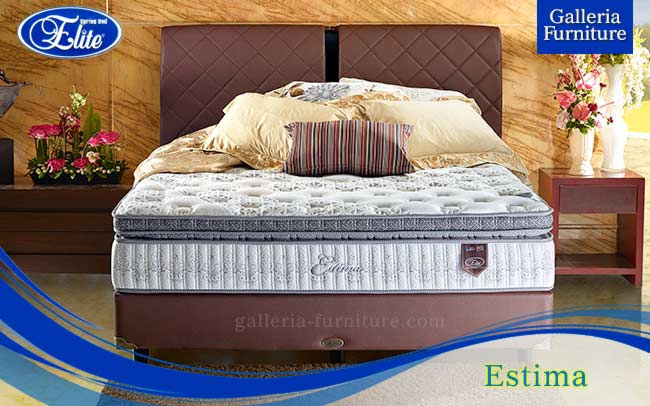 Springbed Elite Estima - Galleria Furniture Bandung