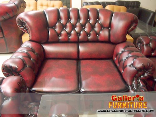 Kursi Sofa Chesterfield Galleria Furniture Bandung