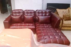 Jual Sofa Murah-Sofa L Leather